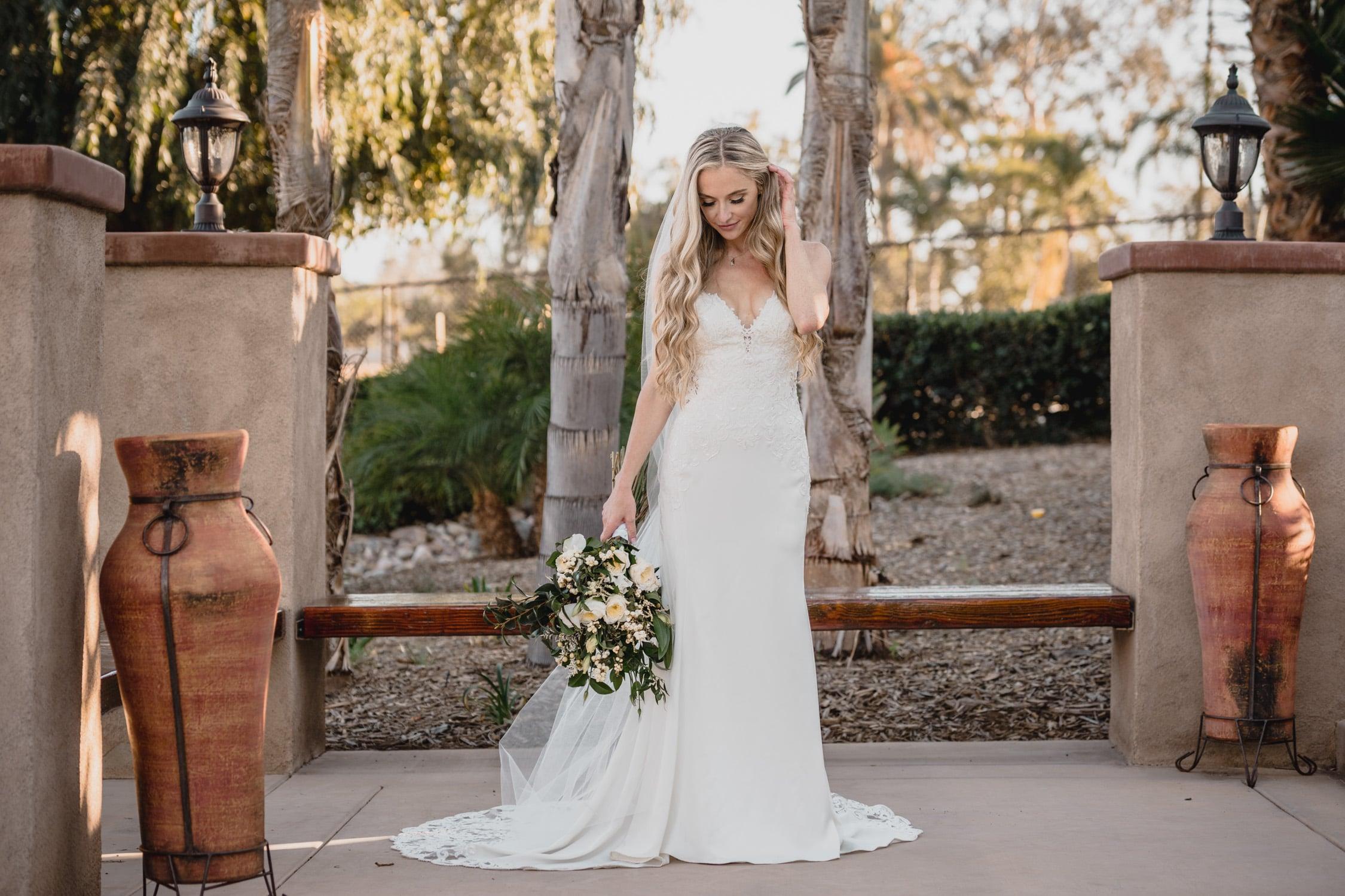 Bride Portrait Oceanside