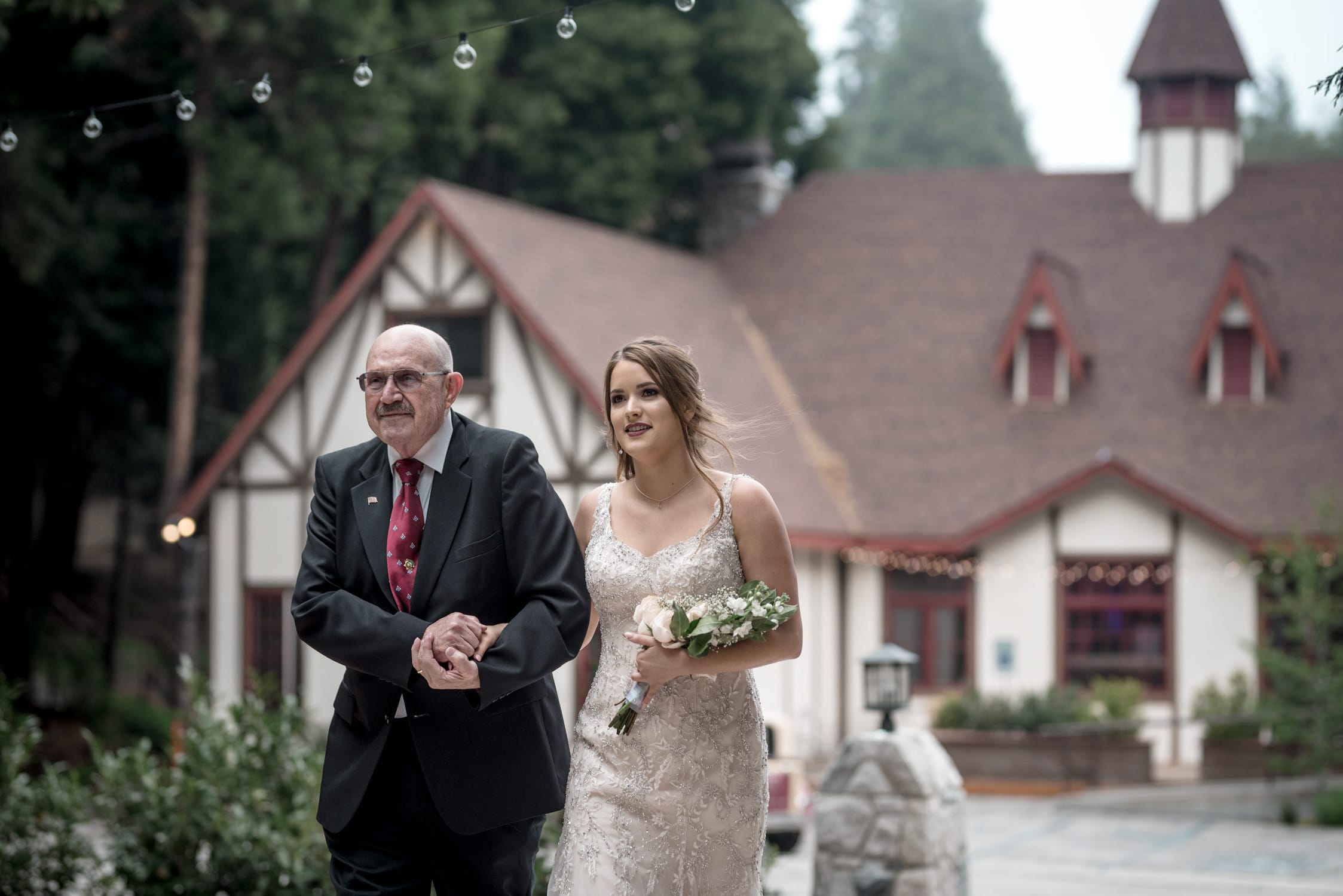 Audrey + Thomas Lake Arrowhead Wedding 83