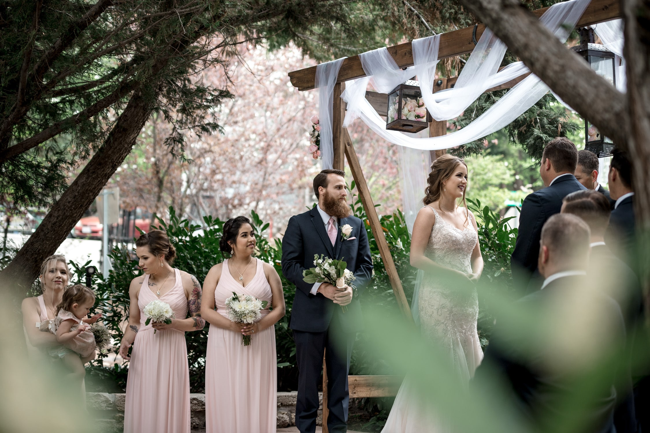 Audrey + Thomas Lake Arrowhead Wedding 27
