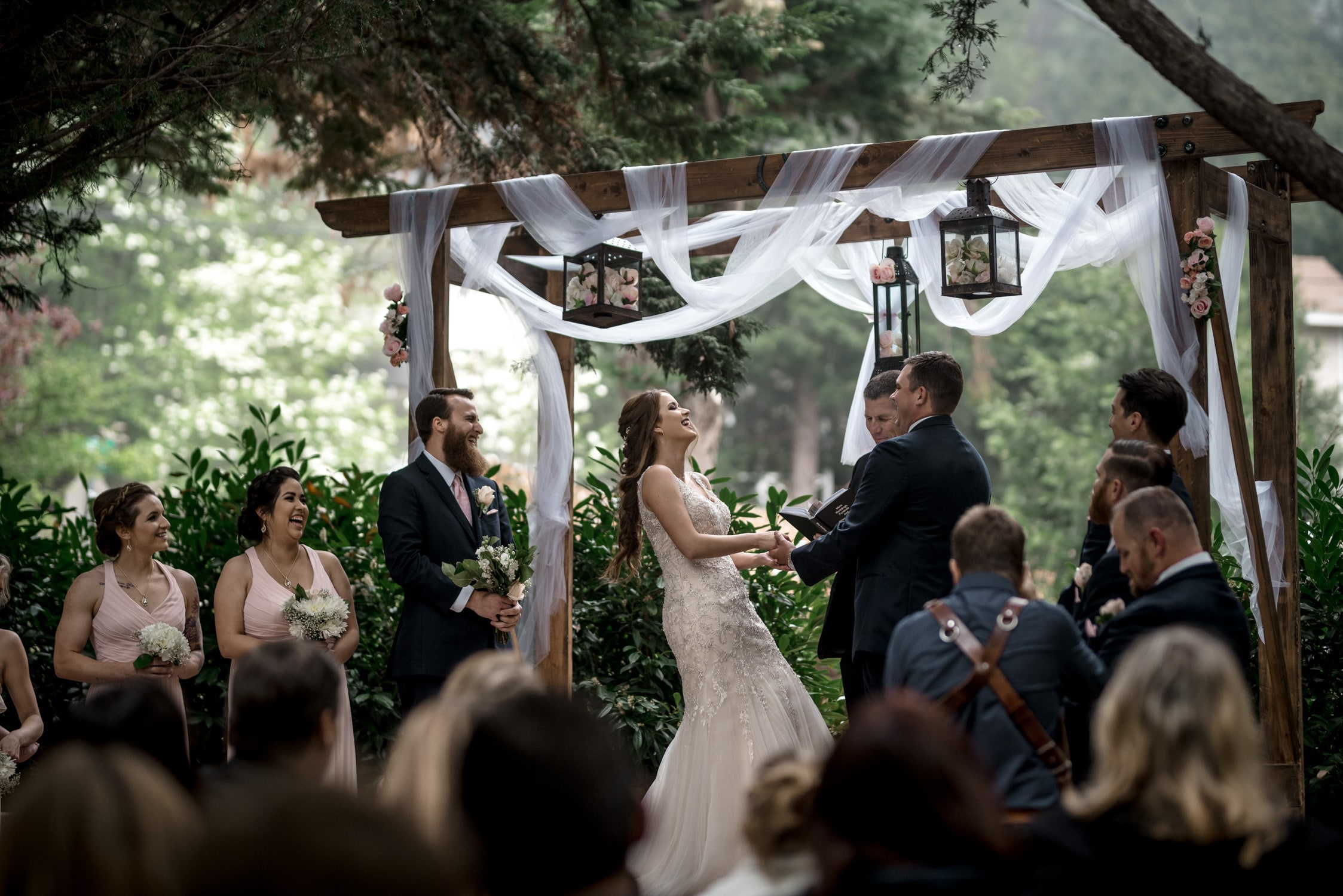 Audrey + Thomas Lake Arrowhead Wedding 85