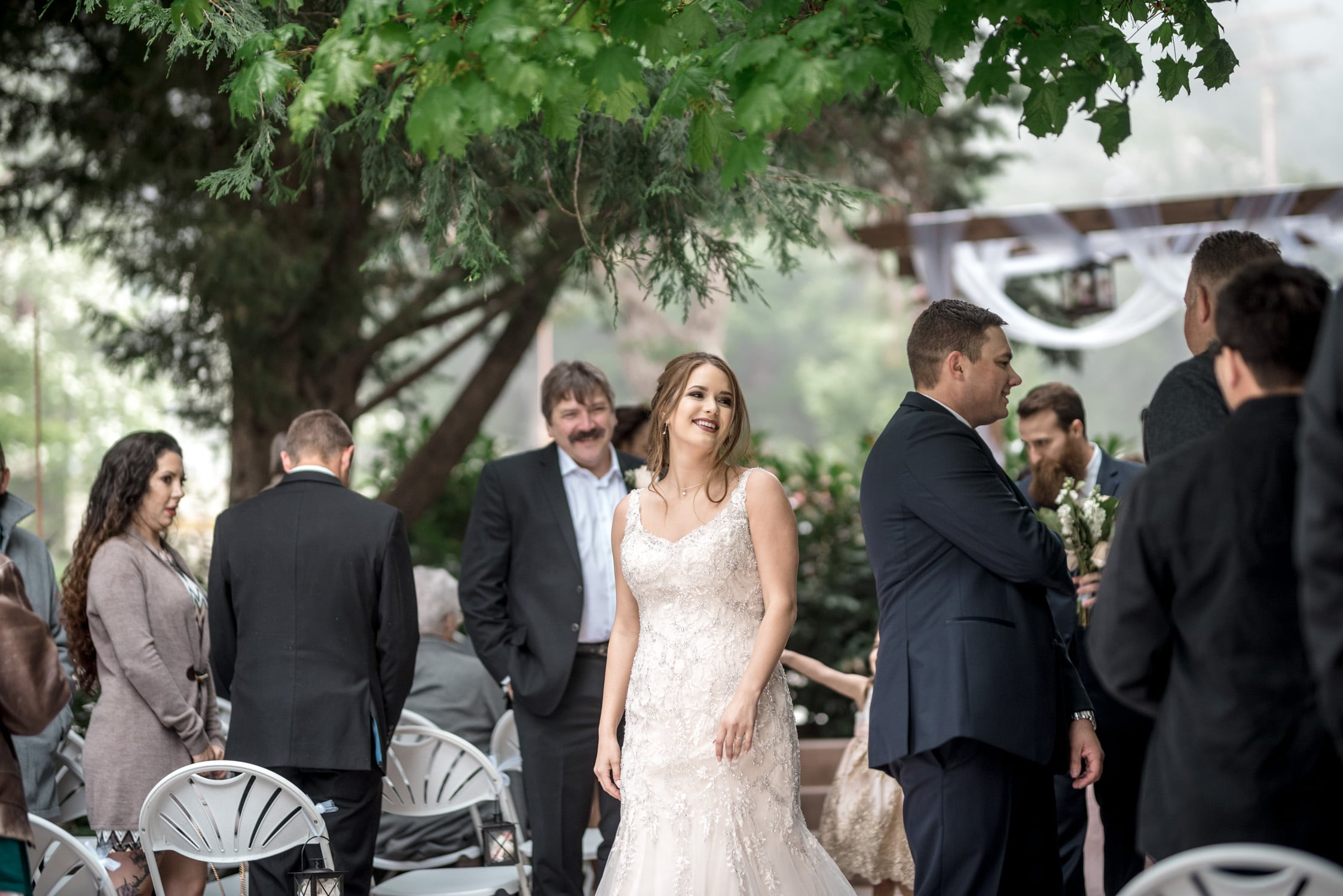 Audrey + Thomas Lake Arrowhead Wedding 87