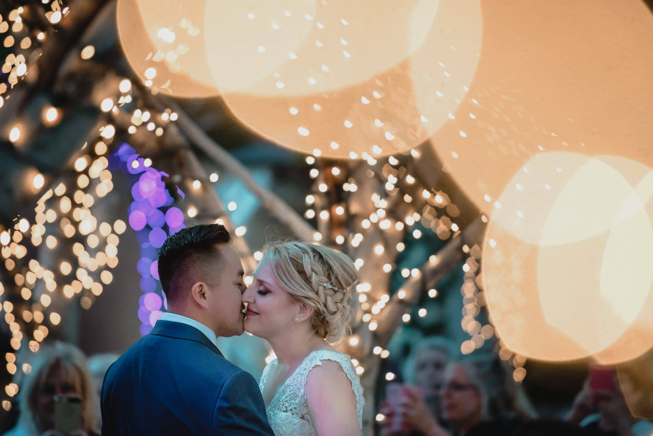 first dance by Palm Springs Wedding Photographer
