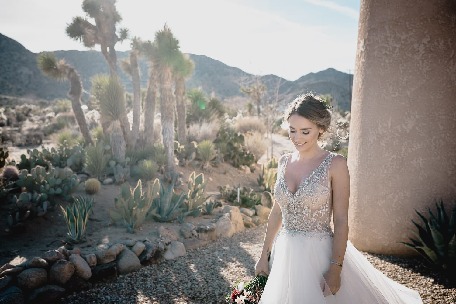 Melanie + Anthony Joshua Tree Intimate Elopement 8