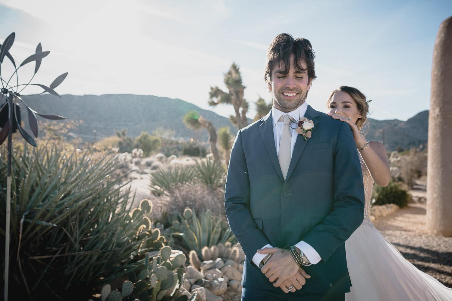 Melanie + Anthony Joshua Tree Intimate Elopement 9