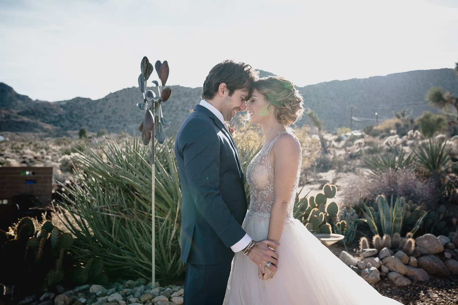 Melanie + Anthony Joshua Tree Intimate Elopement 11