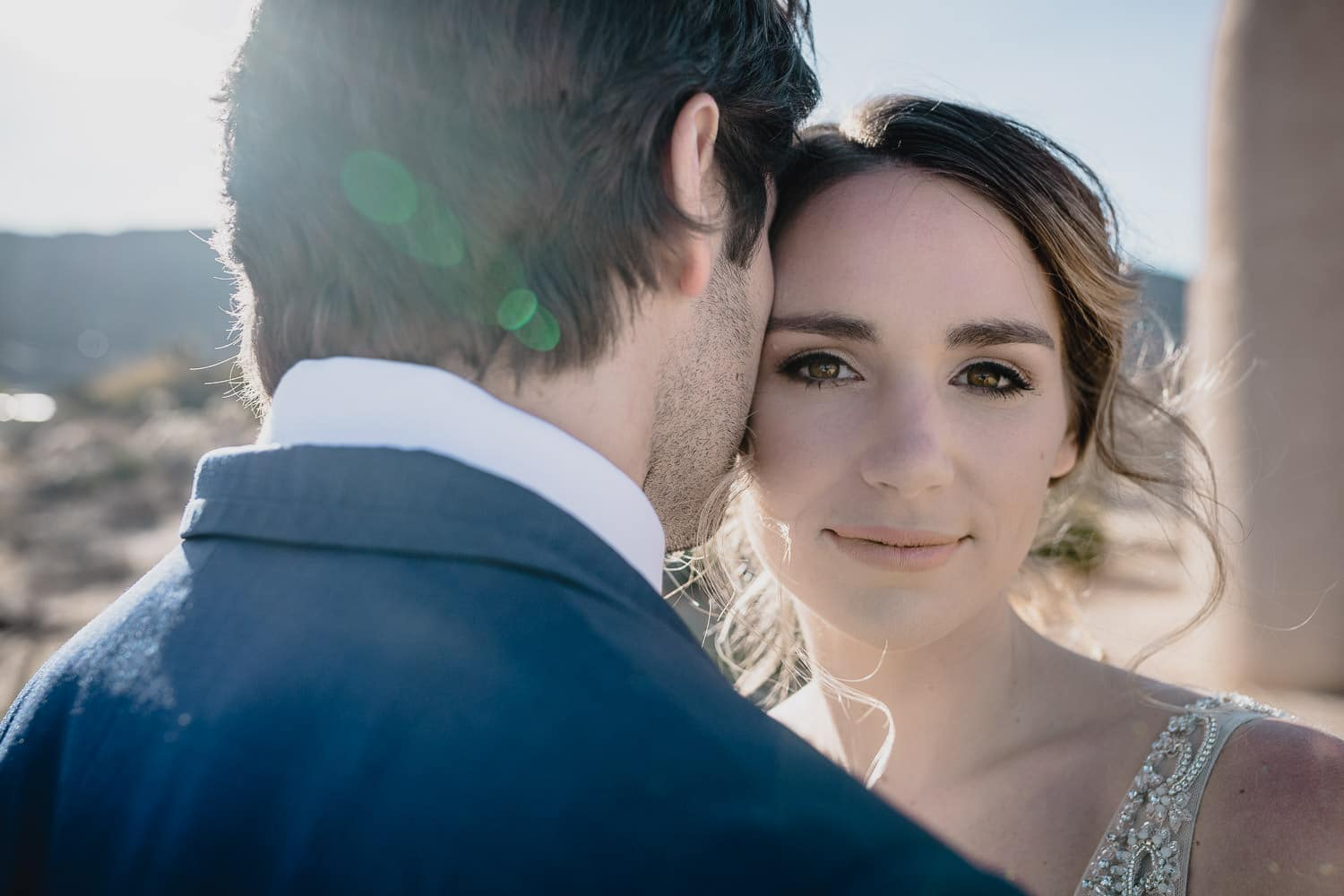 Melanie + Anthony Joshua Tree Intimate Elopement 12
