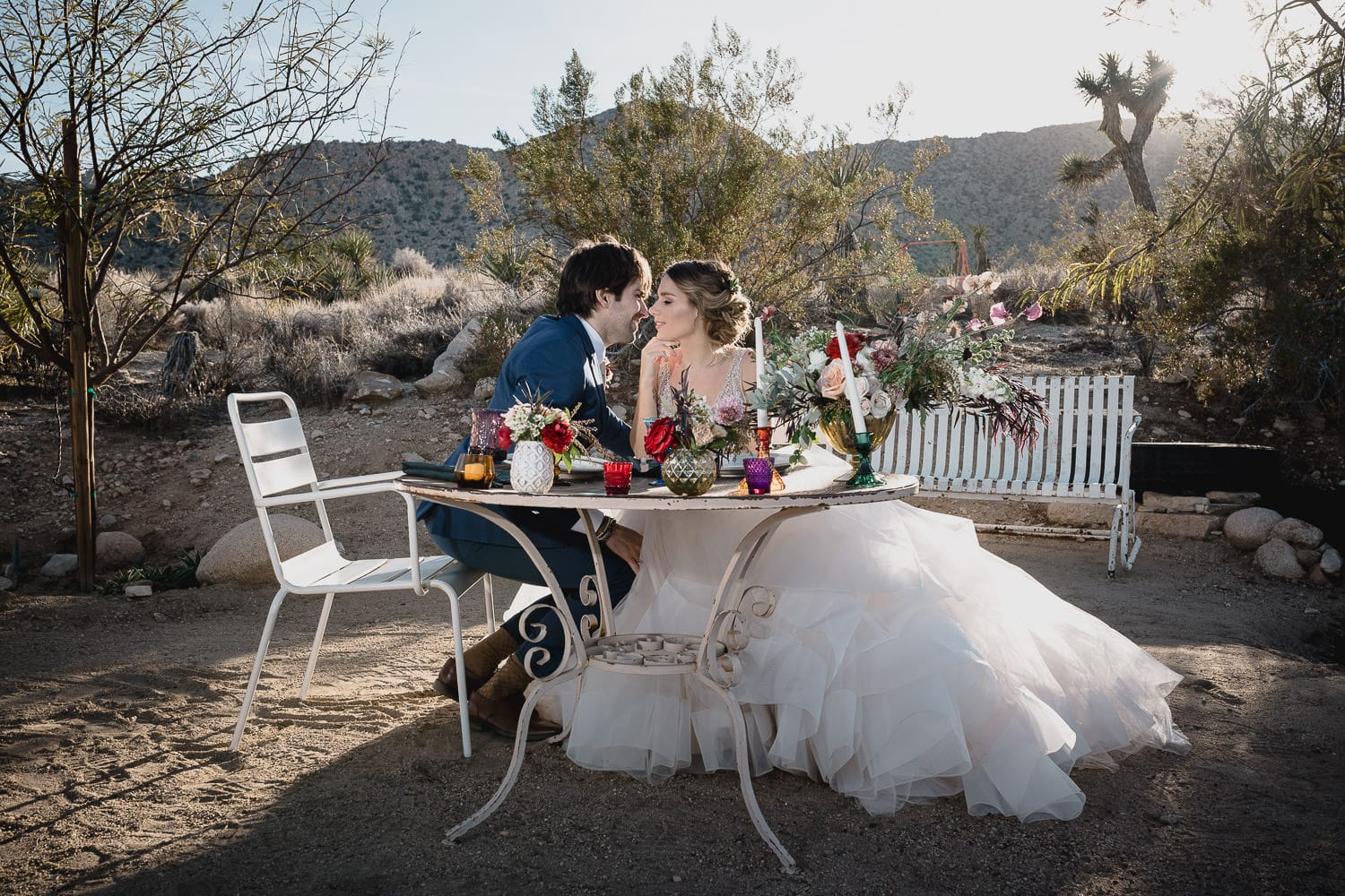 Melanie + Anthony Joshua Tree Intimate Elopement 14