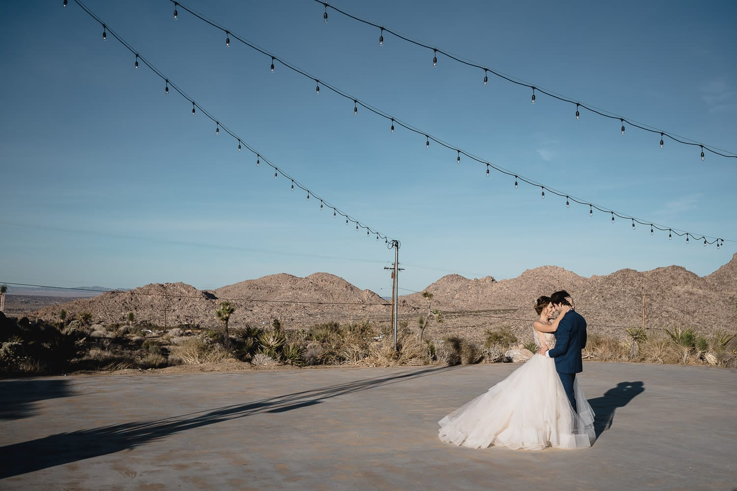 Melanie + Anthony Joshua Tree Intimate Elopement 15