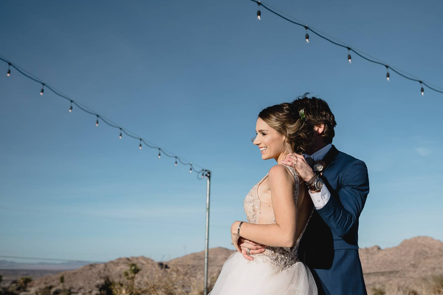 Melanie + Anthony Joshua Tree Intimate Elopement 16