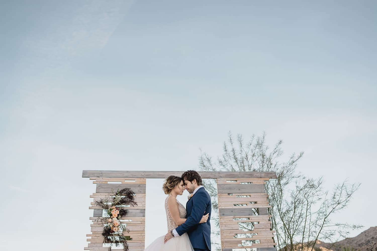 Melanie + Anthony Joshua Tree Intimate Elopement 17