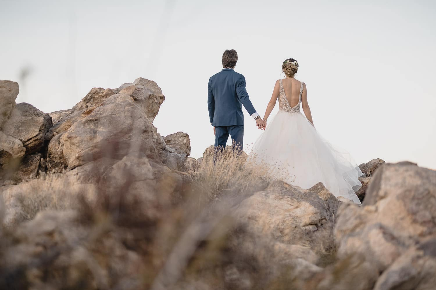 Melanie + Anthony Joshua Tree Intimate Elopement 21