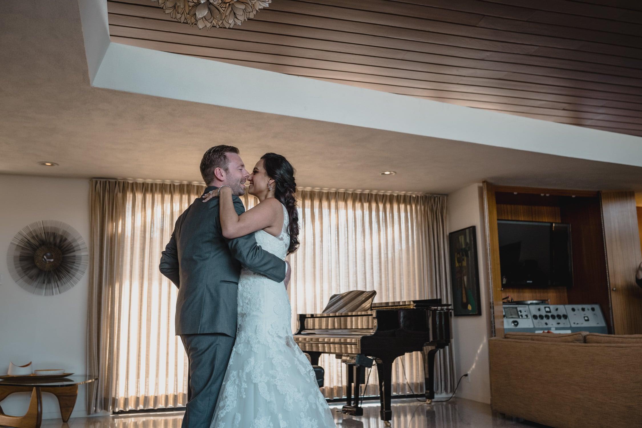 Wedding at Twin Palms Sinatra Estate with Karen & James 75