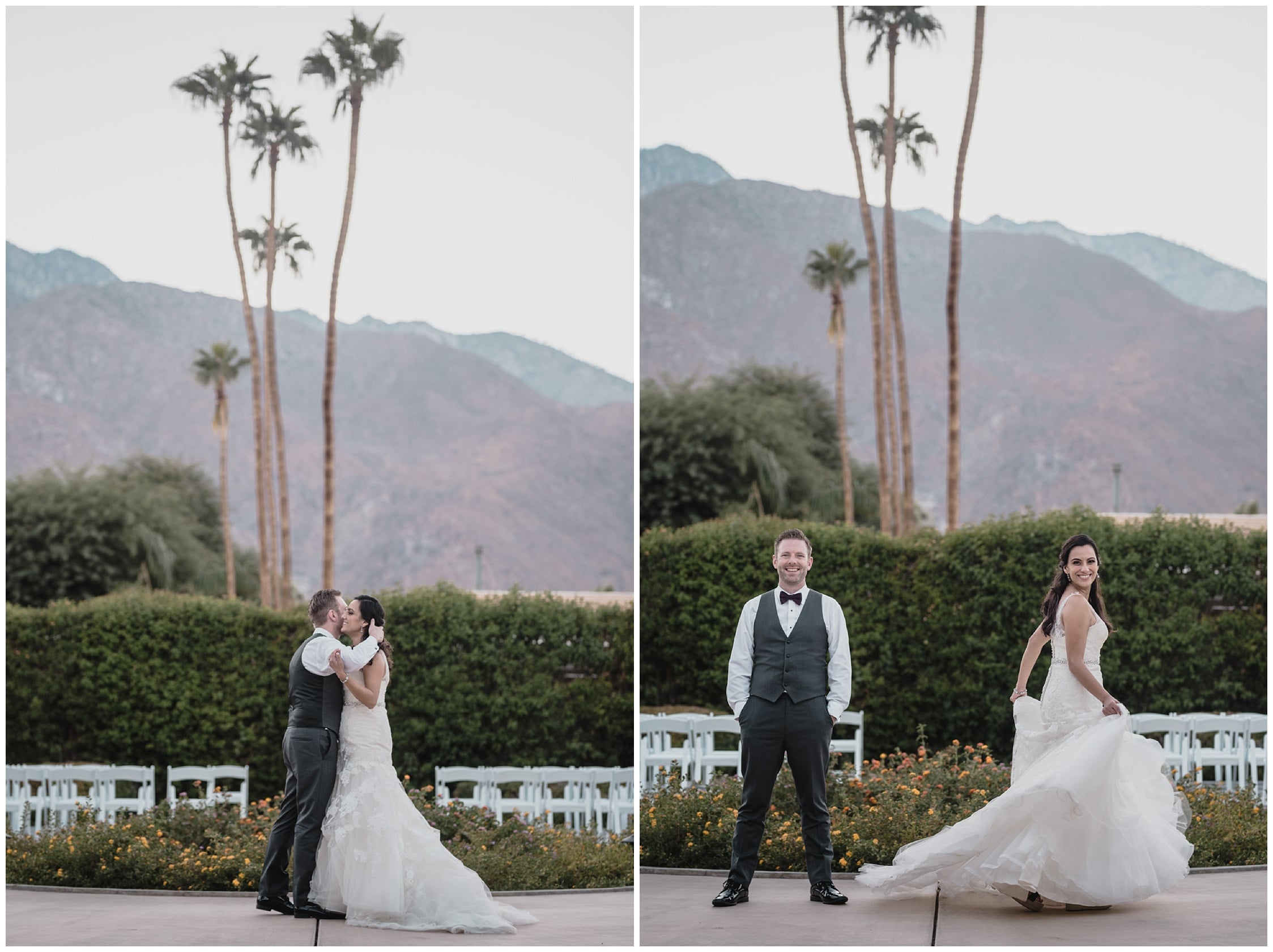 portraits Wedding at Twin Palms Sinatra Estate