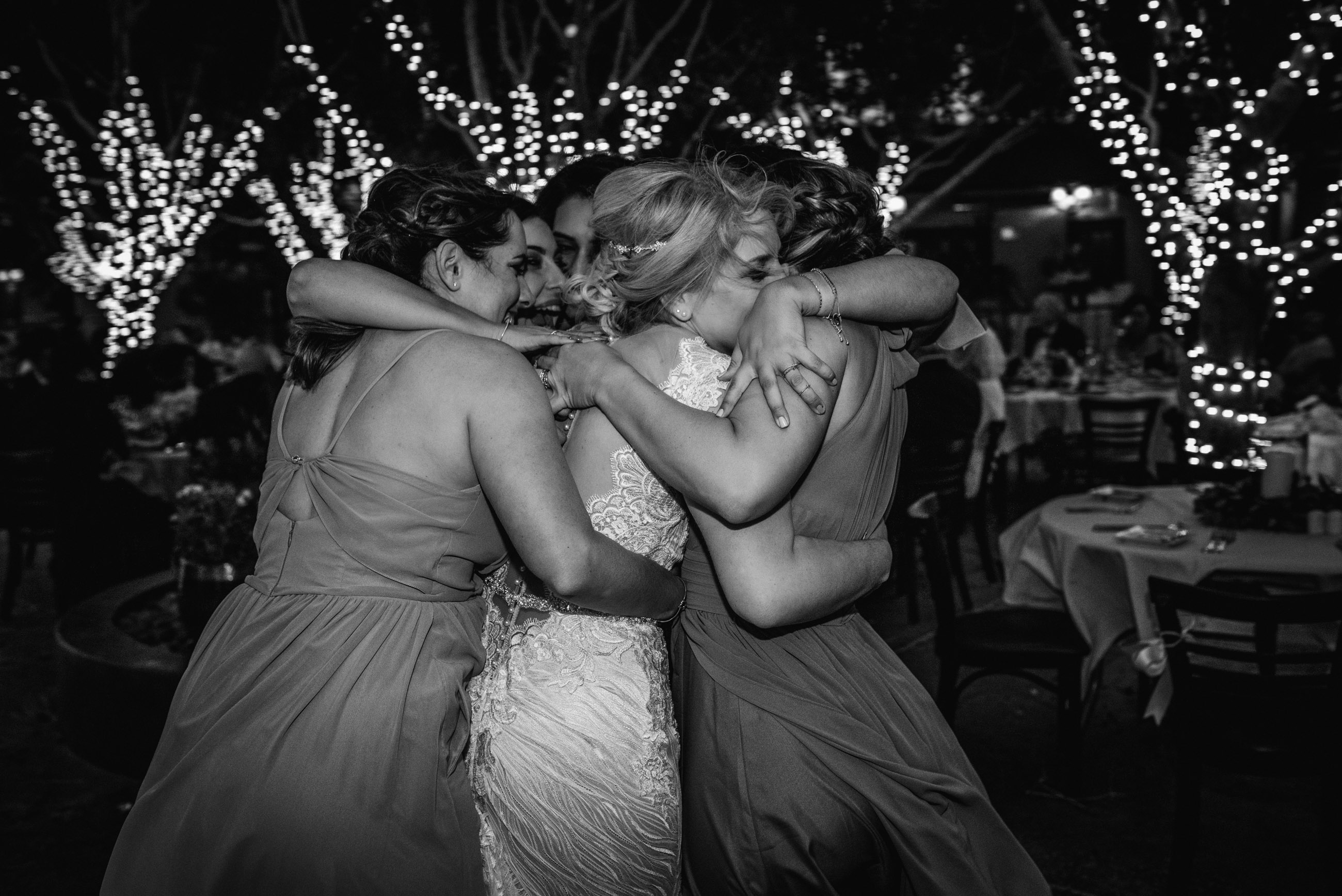 have fun with your bridesmaids and keep calm during your wedding day