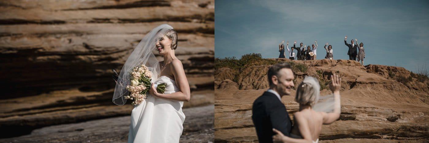 Wedding Elopements Sunset Cliffs Natural Park Attila Iuhasz Photography